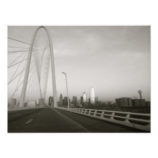 Dallas Bridge Photo Art