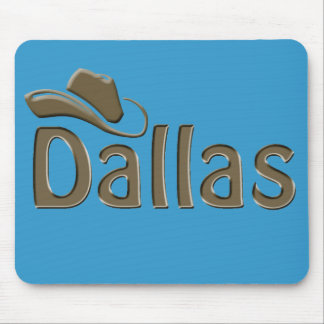 dallas - changeable background color mouse mat
