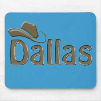 dallas - changeable background color mouse mat