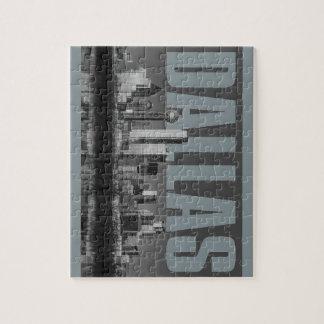 Dallas Cityscape Jigsaw Puzzle