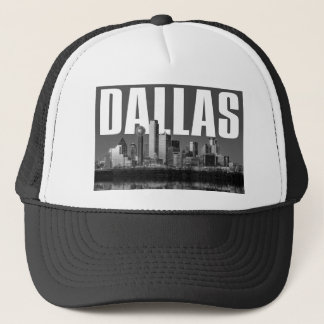 Dallas Cityscape Trucker Hat
