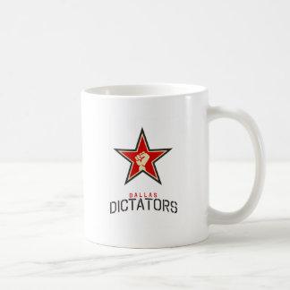 Dallas Dictators Store Classic White Coffee Mug