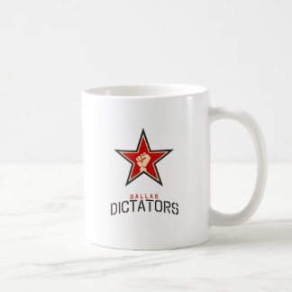 Dallas Dictators Store Basic White Mug