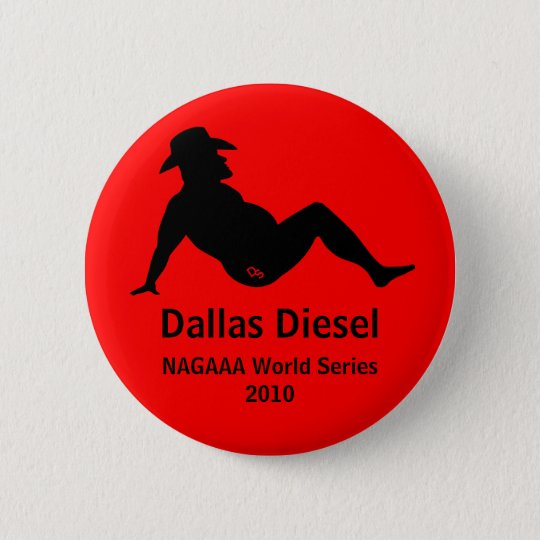 Dallas Diesel Commemorative 2010 Button