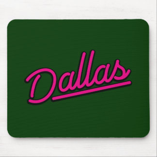 Dallas in magenta mousepad