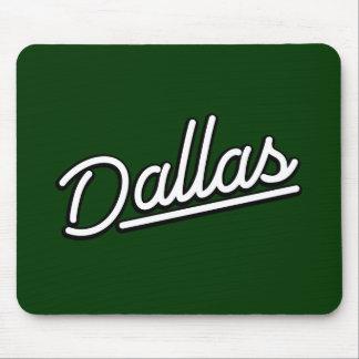 Dallas in white mouse pad