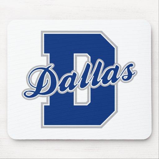 Dallas Letter Mousepads