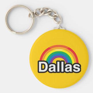 DALLAS LGBT PRIDE RAINBOW KEY CHAINS