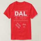 Dallas Love Field Airport DAL T-Shirt