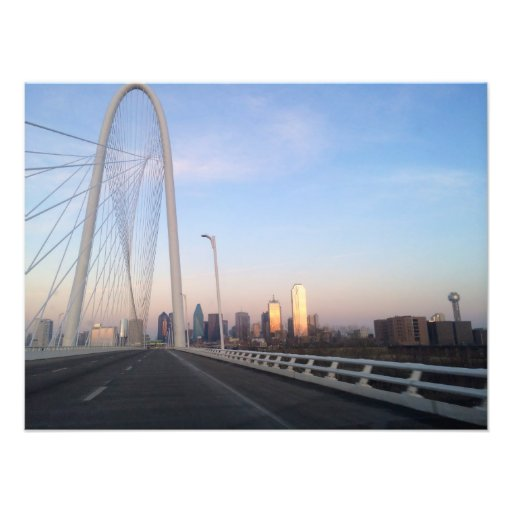 Dallas Margaret Hunt Bridge Photograph
