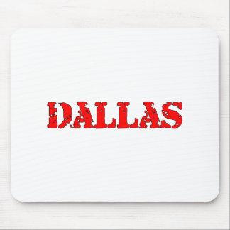 Dallas Mouse Pad
