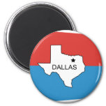 Dallas-Old, United States flag Magnets