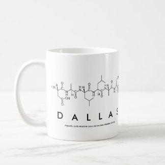 Dallas peptide name mug