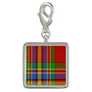 Dallas Scottish Tartan Charm Bracelet