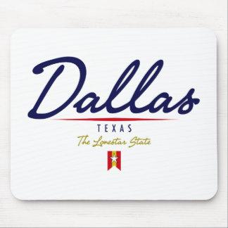 Dallas Script Mousepad