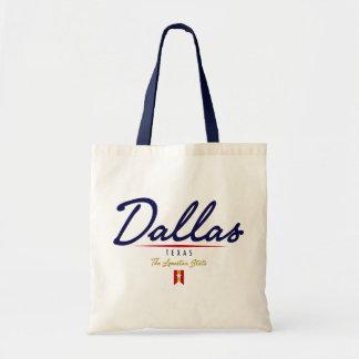 Dallas Script Tote Bag