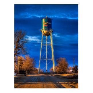 Dallas, SD Water Tower Postcard