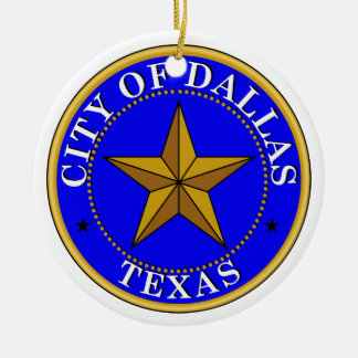Dallas Seal Christmas Ornament