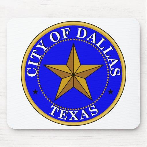 Dallas Seal Mousepads