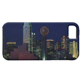 Dallas Skyline at Night Case For The iPhone 5