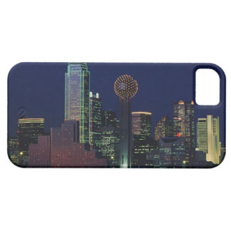 Dallas Skyline at Night iPhone 5 Cover