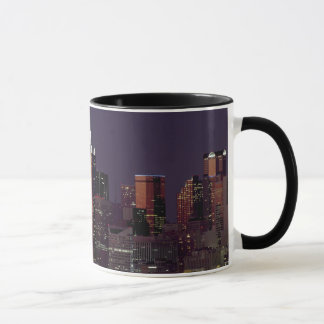Dallas Skyline at Night Mug