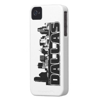 Dallas Skyline iPhone 4 Covers