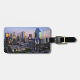 Dallas Skyline Luggage Tag