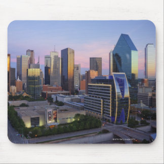 Dallas Skyline Mouse Pad
