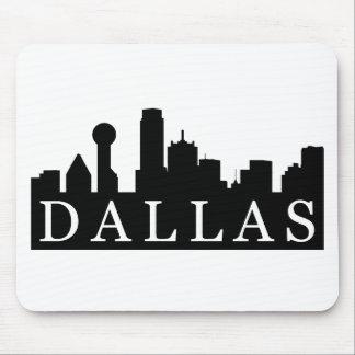 Dallas Skyline Mouse Pad
