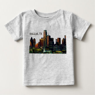 Dallas Skyline on T-shirt