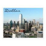 dallas skyline postcards