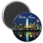 Dallas Skyline Refrigerator Magnet