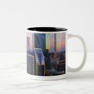 Dallas Skyline Two-Tone Coffee Mug