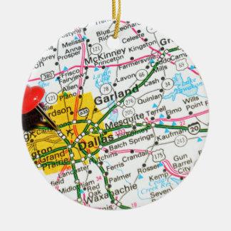 Dallas, Texas Christmas Ornament