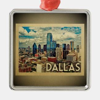 Dallas Texas Ornament Vintage Travel