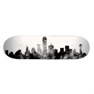 Dallas Texas Skyline 20 Cm Skateboard Deck