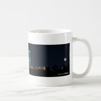 Dallas, Texas Skyline at Night Coffee Mug