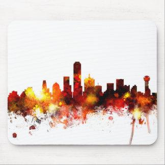 Dallas Texas Skyline Mouse Mat