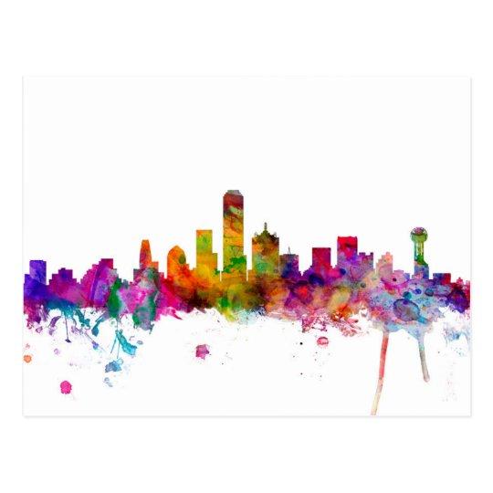 Dallas Texas Skyline Postcard