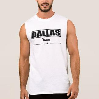 Dallas Texas Sleeveless Shirt