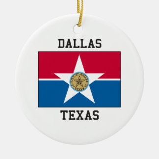 Dallas, Texas USA Christmas Ornament