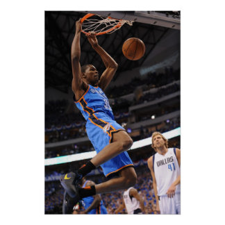 DALLAS, TX - MAY 25: Kevin Durant #35 of the Poster