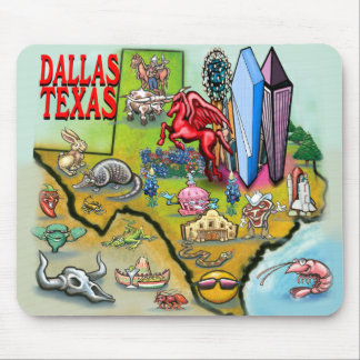 Dallas TX Mouse Pad