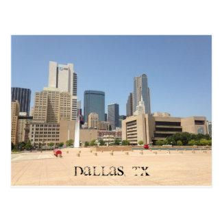 """DALLAS, TX"" POSTCARD"