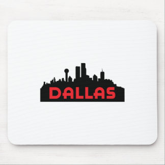 DALLAS TX SKYLINE MOUSE PADS