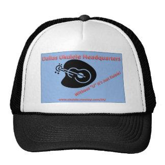 Dallas Ukulele Headquarters Trucker Hats