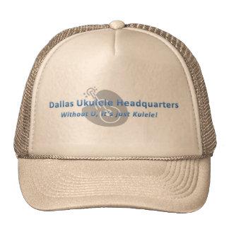 Dallas Ukulele Headquarters Hat