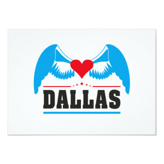 Dallas_v1.ai 13 Cm X 18 Cm Invitation Card