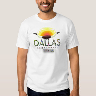 Dallas with steer horns shirts